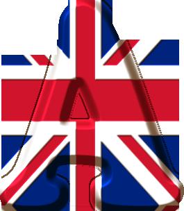 Alphabet drapeau anglais 21 03 2015 - Dibujo bandera inglesa ...